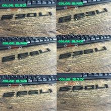 3d английские буквы наклейки для автомобиля цифровой арабскими