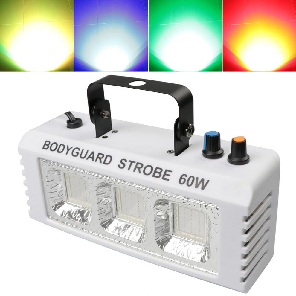 Colorful Light Mini Strobe Light Stage Effect Light with Voice Control / Self-propelled / Flashing / Stroboscopic/Remote Control