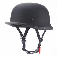 Half Face Retro Motor Cycle Helmet Vintage Moto Headgear Open Face Casco Crash Helmet Summer Bike Helmet Abs Unisex