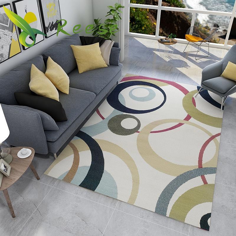 Simple Japanese Carpet Rug For Living Room Modern Floor Rug Non-slip Antifouling Carpet For Bedroom Parlor Factory Direct Supply