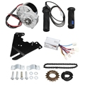 24V 250W Elektrische Fahrrad Motor Conversion Kit Elektrische Bike Hub Motor Controller für 20 28 Inch Elektrische bike-in Lenkerband aus Sport und Unterhaltung bei