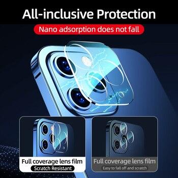 Защитное 3D стекло для камеры iPhone 12 3