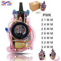 For PWK 21 24 26 28 30 32 34 Coloful For Keihin PWK Motorcycle Carburetor Carburador 2 Strokes Power Jet Racing Moto 90cc 250cc
