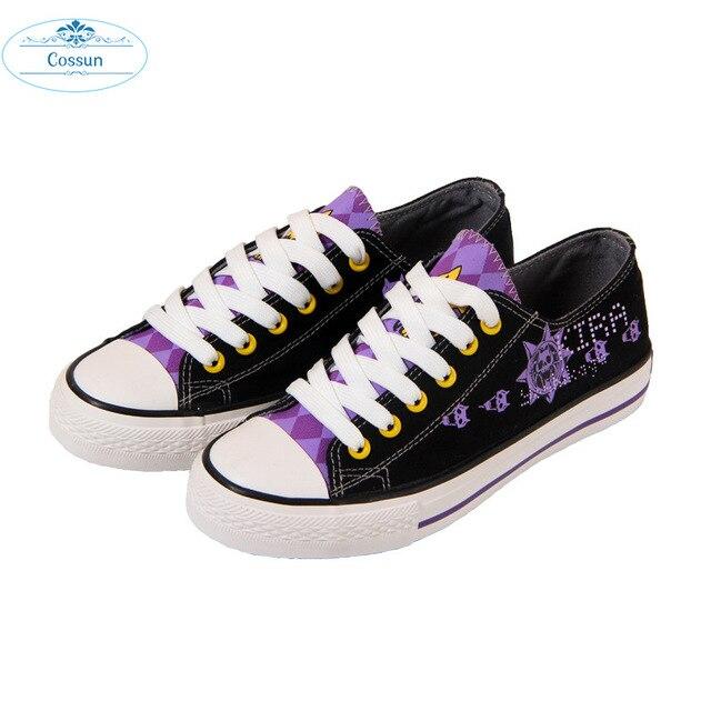 COSSUN Jojo's Bizarre Adventure Giorno Giovanna/bruno Bucciarati Shoes Lolita Girl Cosplay Shoes Casual /fashion Skate Shoes 4