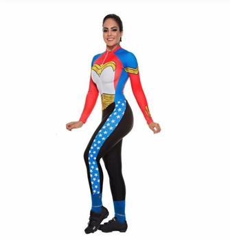 2020 pro equipe triathlon terno feminino camisa de ciclismo skinsuit macacão maillot ciclismo ropa ciclismo manga longa conjunto 1
