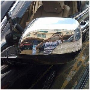 Накладка на зеркало заднего вида для Honda CRV, хромированная накладка на зеркало заднего вида, для Honda CRV, CRV, 2007, 2008, 2009, 2010, 2011, аксессуары для стай...
