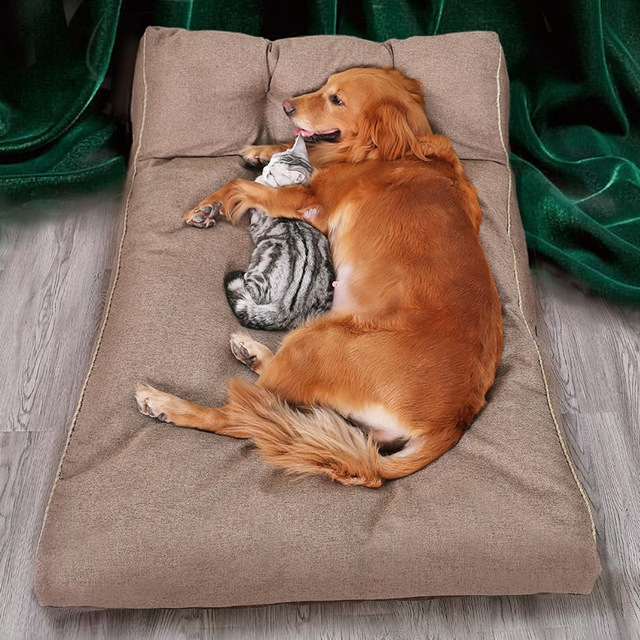 Cozy Dog Couch Lounger - Cat Bed - Removable Cover  6