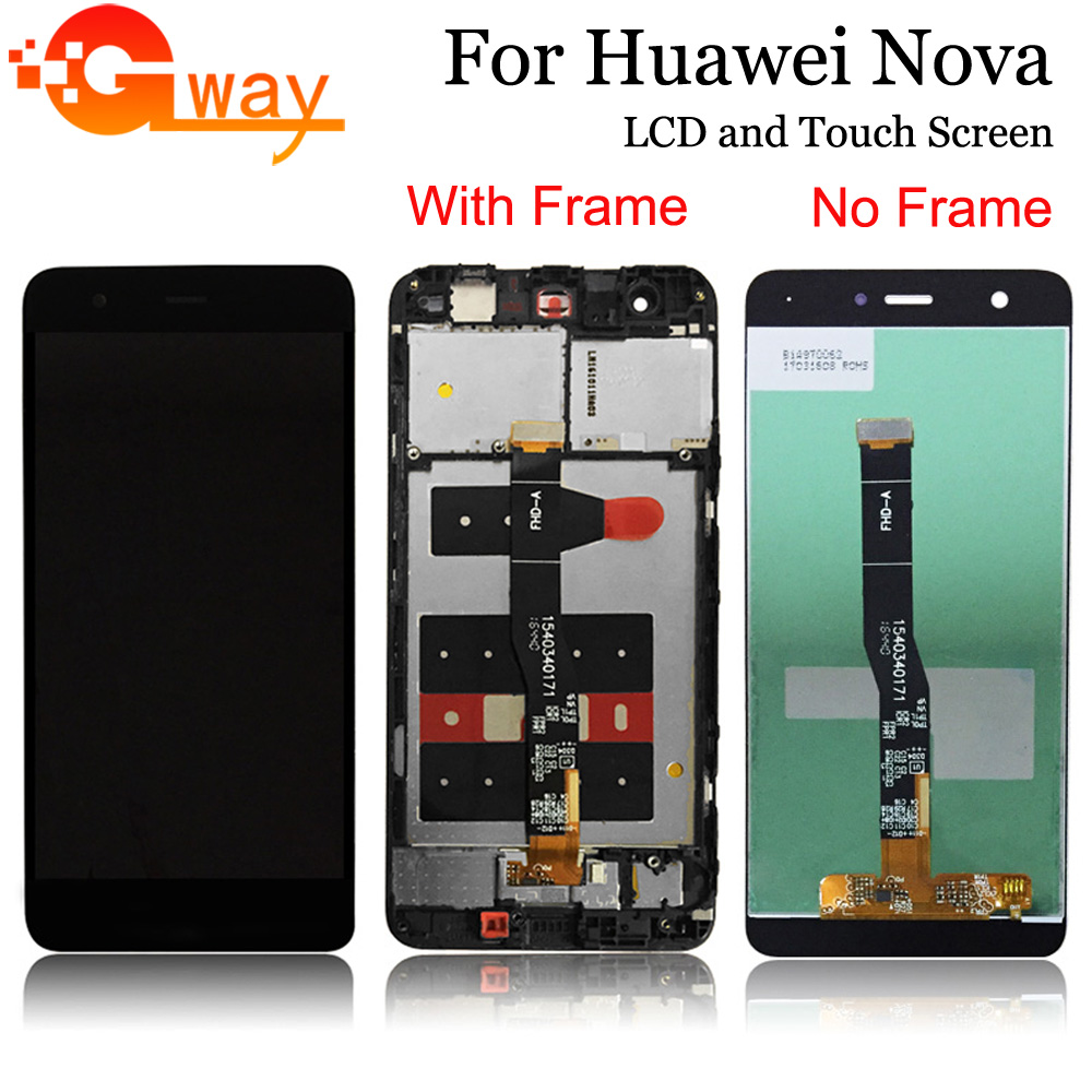 For Huawei Nova LCD Display+Digitizer touch Screen for huawei nova lcd CAZ AL10 CAN L01 / L11 / L02 With Frame with tools|huawei lcd screen|screen touch|touch screen digitizer - title=