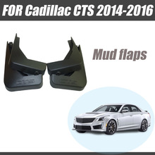 For Cadillac CTS mudguards cadillac splash guards cts mud flaps Fenders car accessories car styling 2014-2016 for cadillac srx mudguards cadillac mud flaps srx splash guards fenders car accessories auto styling 2009 2015