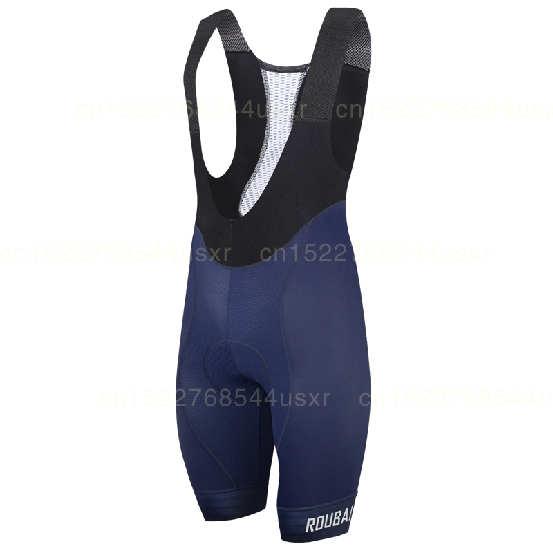 Roubaix Cycling bib shorts Blue and black cycle bottom 2019 New Breathable technology Non-slip webbing short 9D gel pad pants