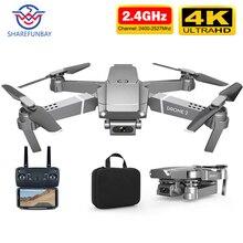 Дрон E68 HD широкоугольный 4K wifi 1080P FPV Дрон видео запись в реальном времени Квадрокоптер высота для обслуживания Дрон камеры Дрон e58