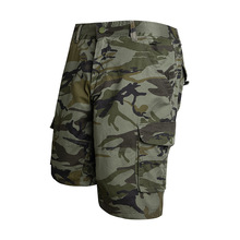 2020 Summer New Overalls Man Military Camouflage Men's Short