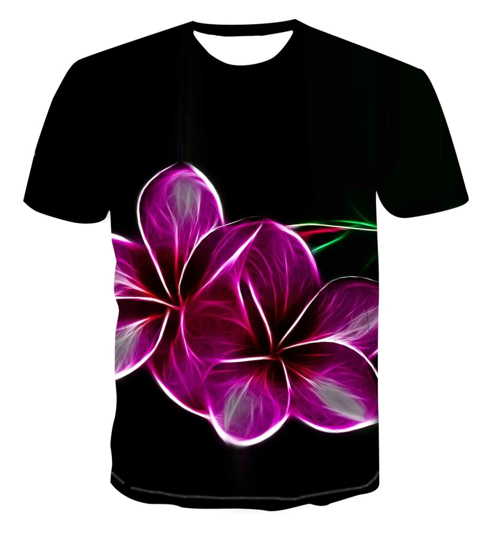 2020 トレンディなファッションtシャツダーク 3Dでサイケデリック印刷男性の半袖夏のストリートカジュアルtシャツ