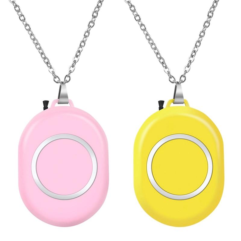 2 шт. портативный очиститель воздуха, освежитель воздуха, портативный USB-очиститель воздуха-желтый и розовый