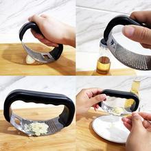 Garlic Grinder Mincer Cooking-Gadgets Multipurpose Manual Stainless-Steel