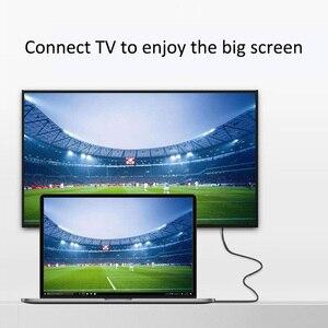 Image 5 - 2 متر usb Type c كابل وصلة بينية مُتعددة الوسائط وعالية الوضوح 4K 60Hz 30Hz 1080P HD كابل امدادات الطاقة للهاتف HDTV العارض