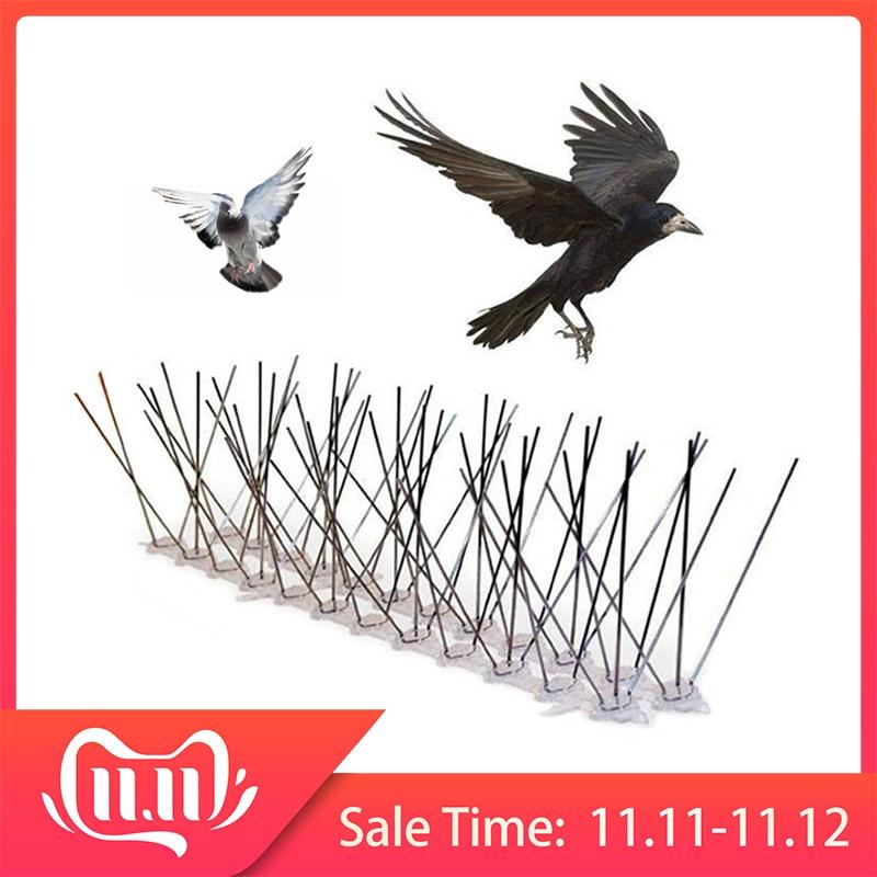 Venda quente 6 m de plástico pássaro e pombo picos anti pássaro pigeon spike para se livrar de pombos e assustar aves controle de pragas