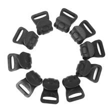 Pack Of 100 Black Plastic Camping Awning Canopy C Clips For 7-10mm Tent Poles(China)
