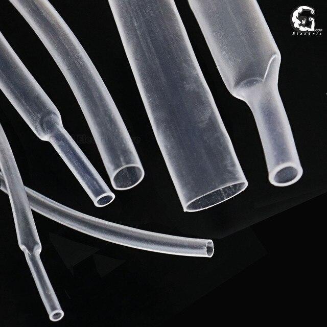 1mm 1.5mm 2mm 2.5mm 3mm 3.5mm 4mm 5mm 6mm 8mm przezroczysty rurka termokurczliwa rurki termokurczliwe owijka termokurczliwa do przewodu zestawy