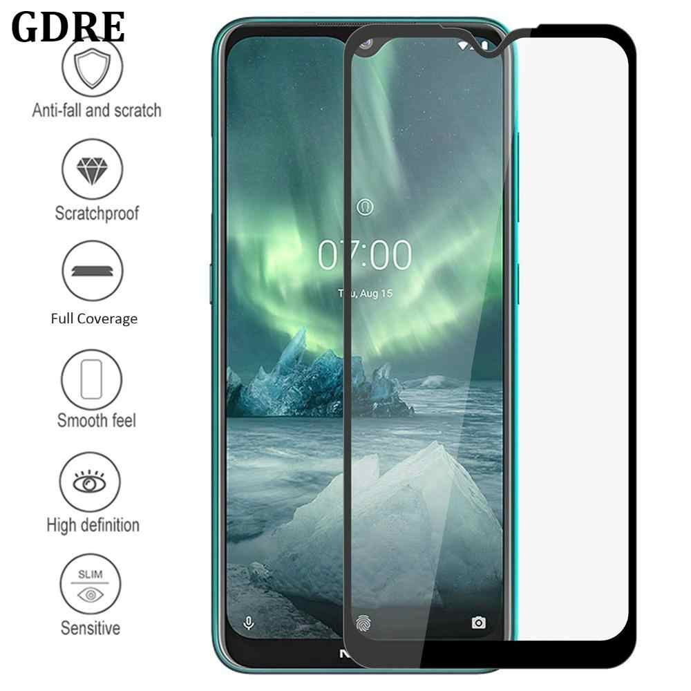 For Nokia 7.2 6.2 4.2 3.2 2.2 Tempered Glass For Nokia 6 5 3 8 X3 X5 3.1 Plus Screen Protector Full Coverage 9H Anti-Burst Film