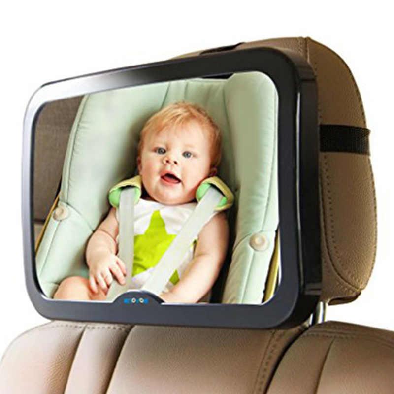 Ukuran Besar Adjustable Berbagai Mobil Kursi Belakang Belakang Cermin Anak Bayi Anak Kursi Keselamatan Headrest Monitor Auto Aksesoris