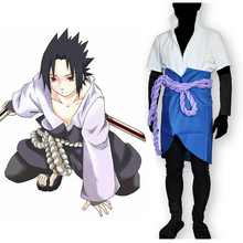 цена на Anime Naruto Shippuden Cosplay Costumes Sasuke Uchiha Cosplay Costume Uniforms Halloween Party Game Cosplay Costume