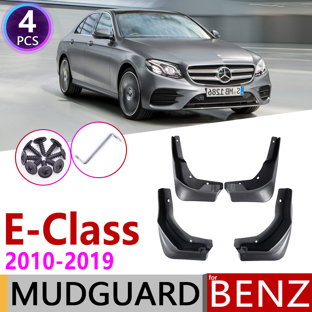 Mudflap for <font><b>Mercedes</b></font> <font><b>Benz</b></font> E Class W212 <font><b>W213</b></font> 2010~2019 Fender Mud Guard Splash Flaps Mudguards <font><b>Accessories</b></font> 2011 2012 2013 300 350 image