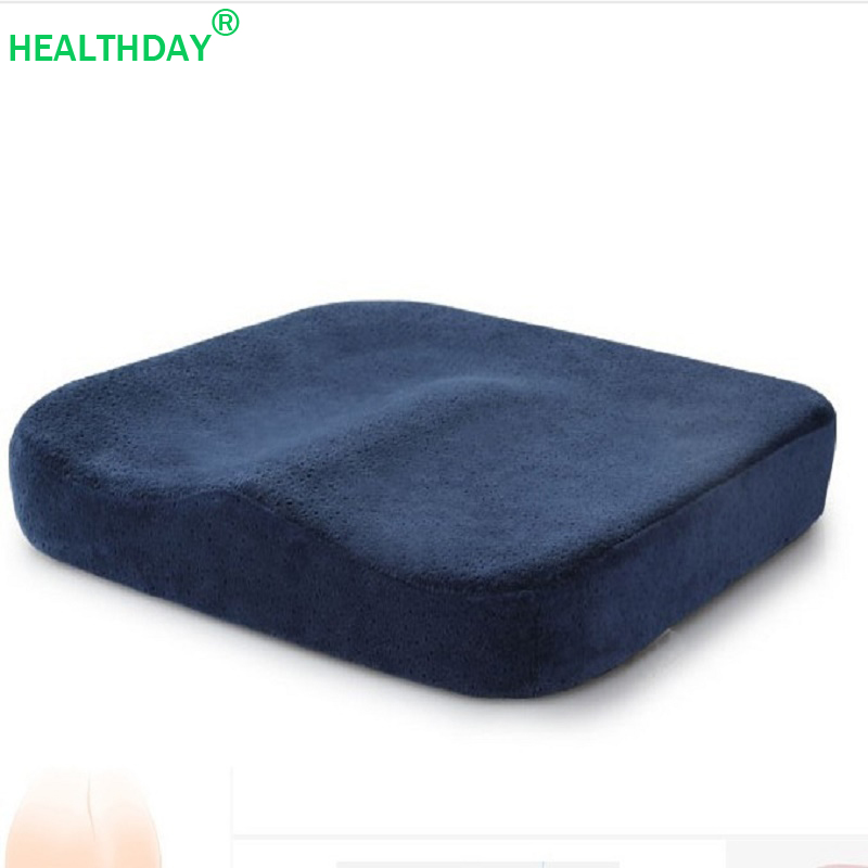 Coccyx Pillow Beautiful Buttocks Memory Foam Seat Cushion For Chair Office Car Seat Support Tailbone Orthopedic Sit  Pad Pillow