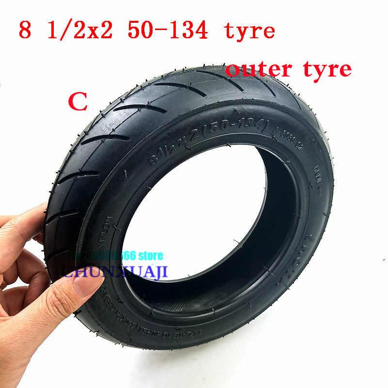 8 1/2X2 (50-134) タイヤインナーチューブは、ベビーカー手押し車電動スクーター自転車 8.5 インチ 8.5*2 ホイールタイヤ 8.5x2