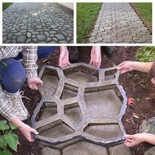 Concrete-Mold Paving Driveway Sturdy Black Durable 50--50