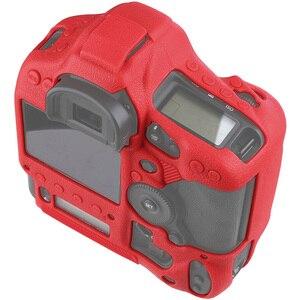 Image 4 - כיסוי עבור Canon 1DX סיליקון מצלמה מגן מקרה עבור Canon 1DX 1DX2 1DXII גבוהה כיתה ליצ י מרקם שאינו להחליק מצלמה כיסוי