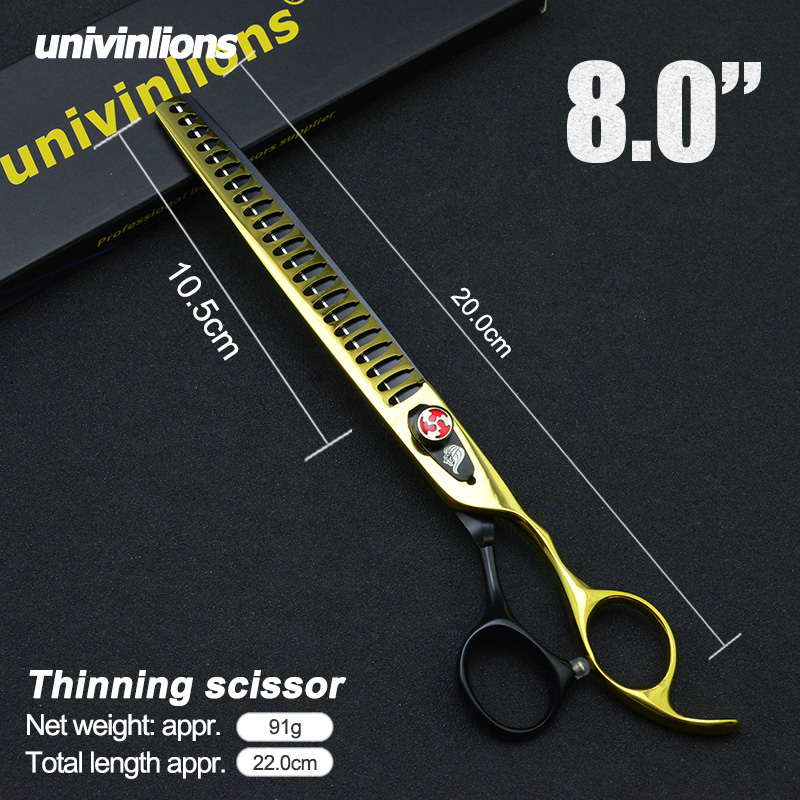 Thinning Scissors Shears Grooming Professional Chunkers Cat Dog 8-