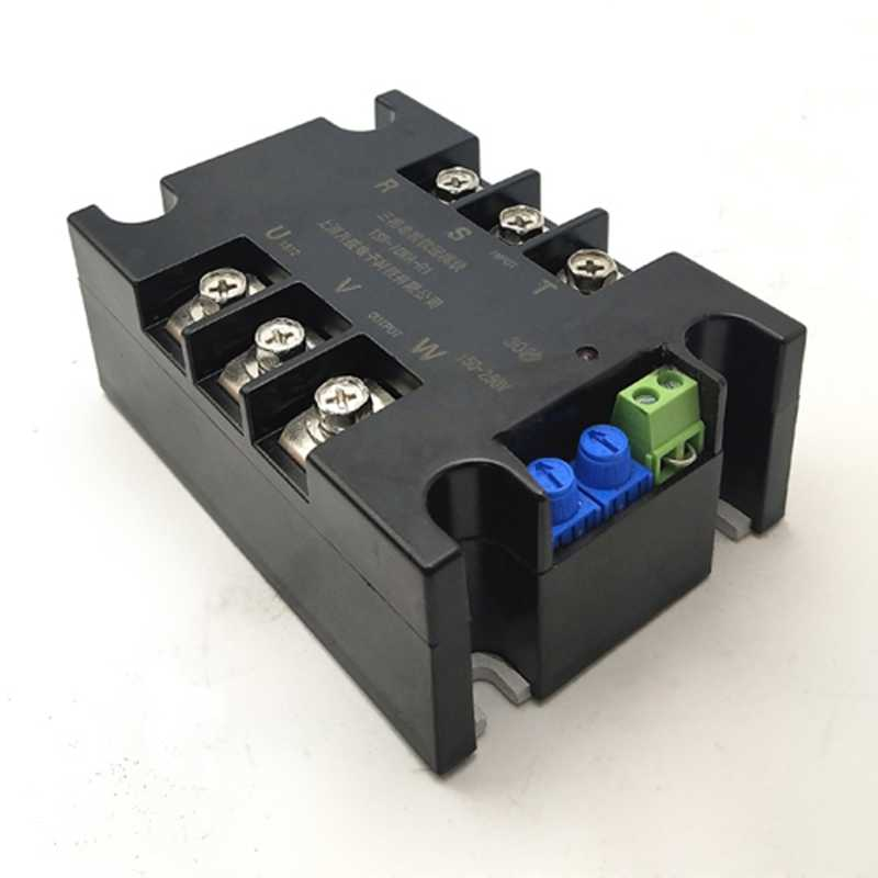 Motor soft start module controller motor soft starter soft stop heat sink three-phase motor slow start 1kw 2kw 4kw 6kw 8kw  10kw