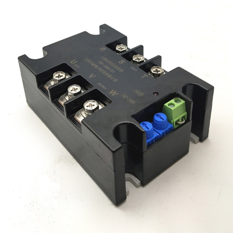 380V Motor soft start module controller starter stop heat sink three-phase motor slow start 1kw 2kw 4kw 6kw 8kw 10kw 15kw 20kw