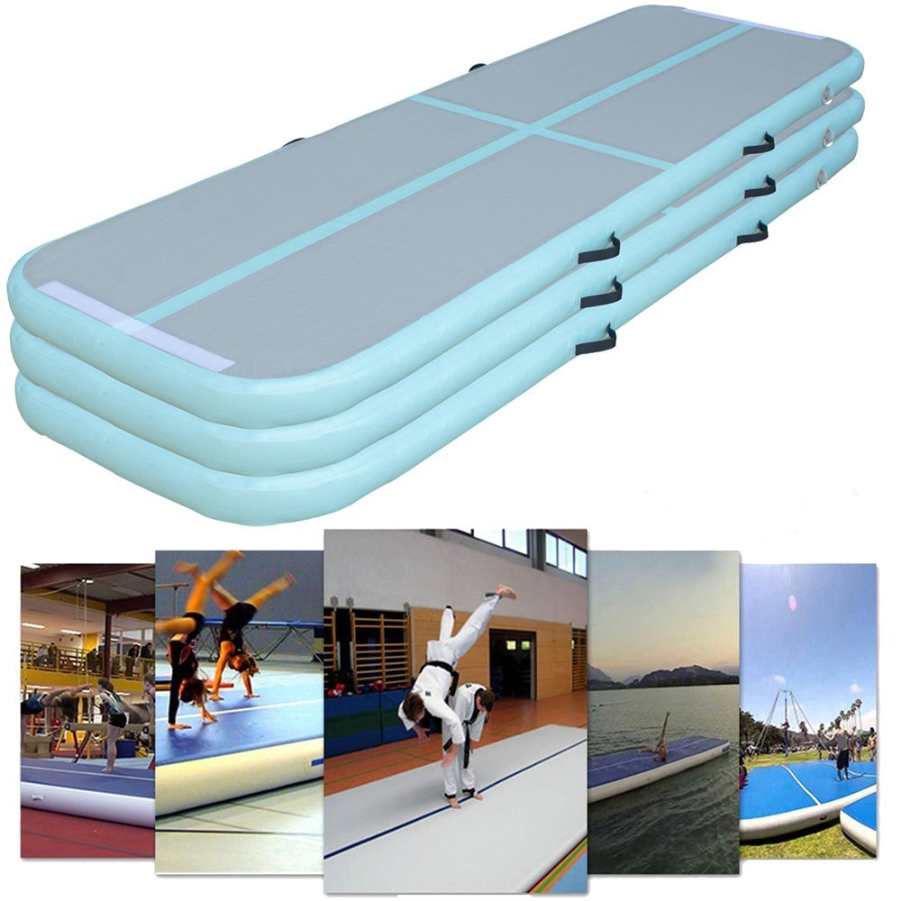 5M*1M*0.2M Or 5M*2M*0.2M Gymnastics Mat For Training Top Quality Inflatable Air Track Mats With Pump Cheap Air Floor Airtrack