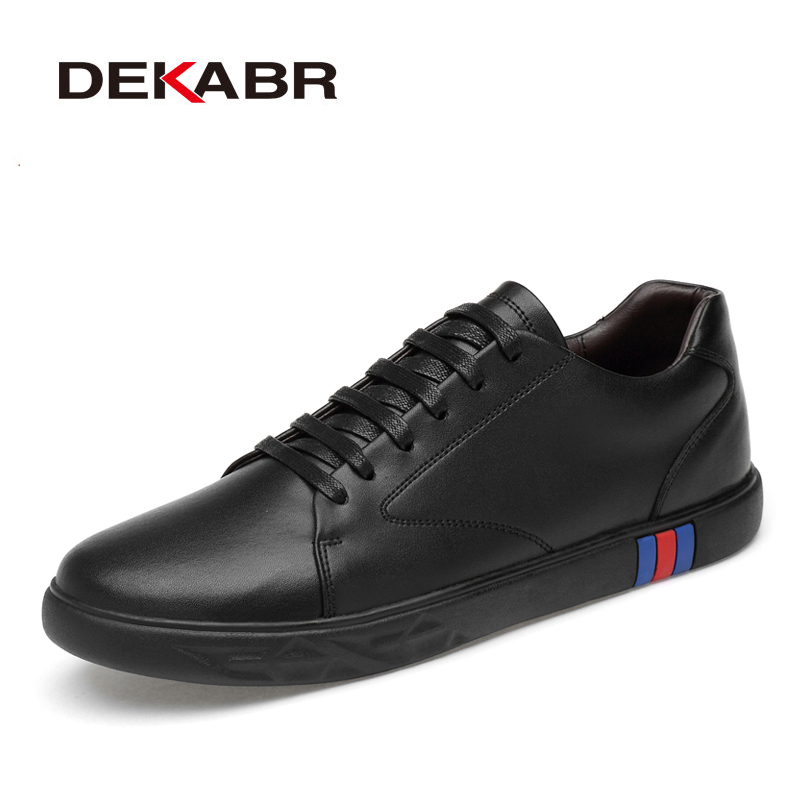 DEAKRB Classic Men Casual Shoes Men Fashion Flats Driving Shoes For Men Italy Style Soft Walking Shoes Autumn Sneakers