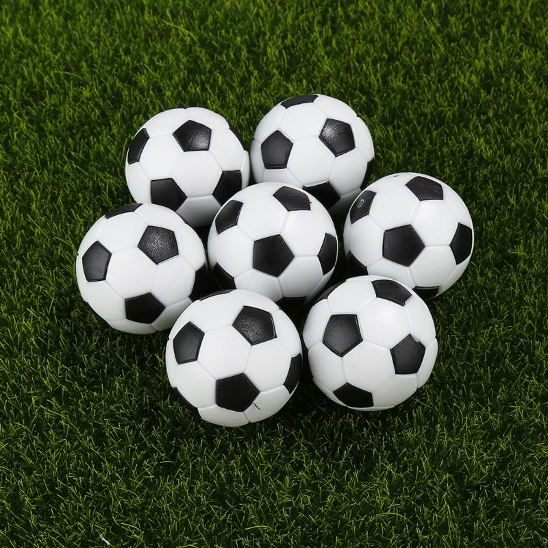 12PCS 32MM MINI PLASTIC SOCCER TABLE FOOTBALL BALLS GAME TOY ACCESSORIES OPULENT 4 Table Footballs Soccer Tables Entertainment