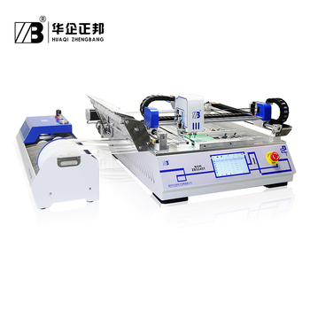 Stable and Reliable Pick Place Machine with dual mounting heads 360 degrees rotate by any angles