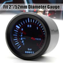 52 мм турбо Boost Gauge пресс светодиодный пресс ure Вакуумный метр Высокая точность простота в эксплуатации PSI указатель давления турбонаддува пр...