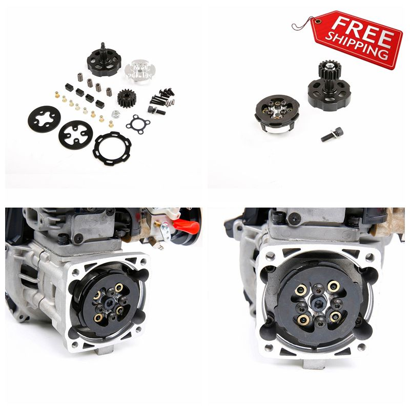 Competitive racing clutch set for 1//5 ROVAN F5 Losi 5ive-t HPI baja RC Car Part