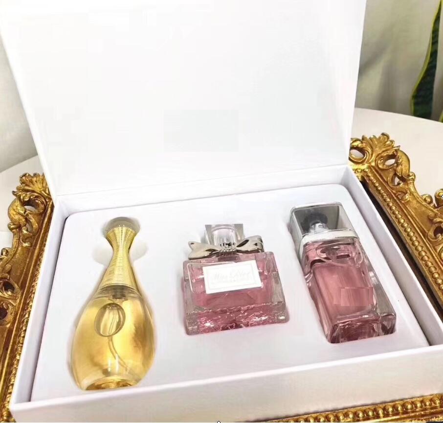 3 In 1 Perfume For Women Original Brand Package Women Perfume Long Lasting Fragrance Lady Antiperspirant 1Set Female Parfum