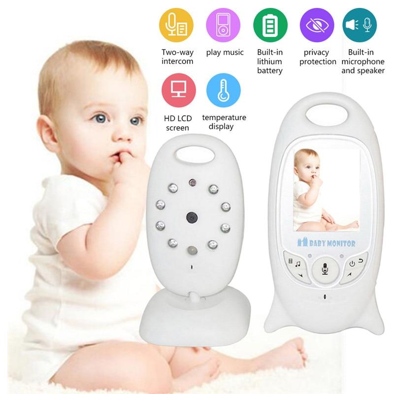 VB601 2 Inch Video Baby Monitor Wireless IP Camera Infrared Night Vision Two Way Talk Support Temperature Monitoring English