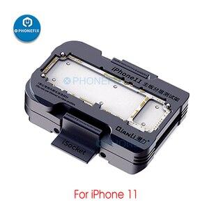 Image 5 - QIANLI iSocket für iPhone X XS XSmax 11 11Pro max Motherboard Test Leuchte für iPhone Doppel deck Motherboard Funktion tester