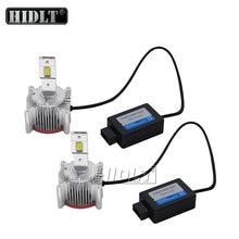 HIDLT 2PCS Error Free Canbus LED Headlight Bulbs 70W 6000K White D1S D2S D3S D4S D8S LED Headlamp Conversion Kit to HID Ballast