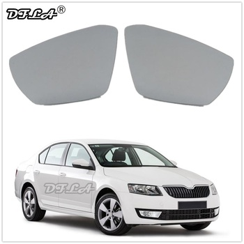 Mirror Glass For Skoda Octavia A7 Mk3 (5E) Sedan & Combi 2013 2014 2015 2016 2017 Car-styling Door Rear Heated Mirror Glass