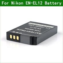 Batterie d'appareil photo numérique ENEL12 EN EL12, pour Nikon COOLPIX S9300 S9400 S9500 W300 A900 S9900 B600