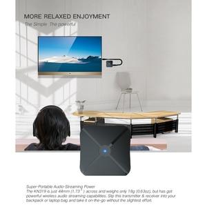 Image 4 - 2 في 1 بلوتوث 4.2 استقبال الارسال بلوتوث اللاسلكية محول الصوت مع 3.5 مللي متر AUX الصوت للمنزل TV MP3 PC