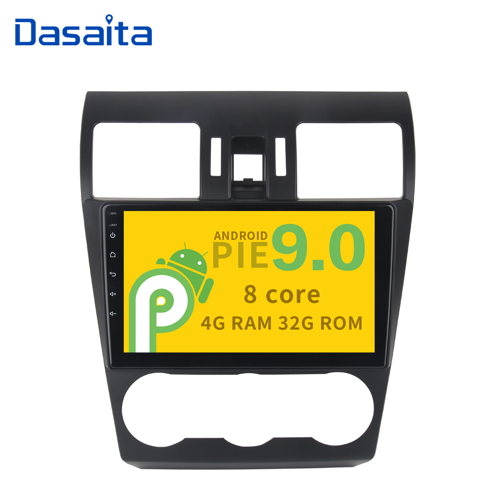 Android 9 0 32G ROM car radio 9 Display Octa Core for Subaru Forester 2013 2014