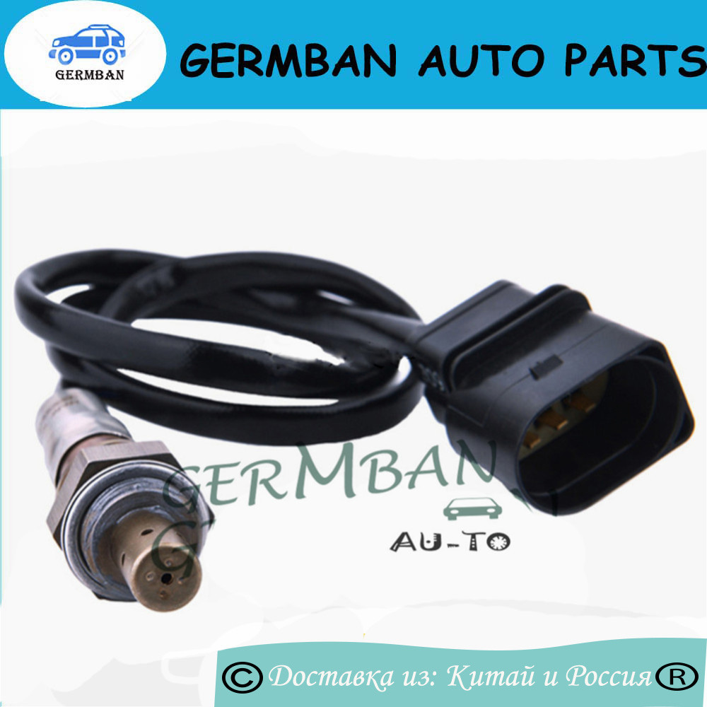 New Manufactured For AUDI A3 V W Jolf Je tta SEAT Altea SKODA Octavia 5Wire Oxygen Sensor 06A906262BR 06A 906 262 BR Lambda O2 in Exhaust Gas Oxygen Sensor from Automobiles Motorcycles