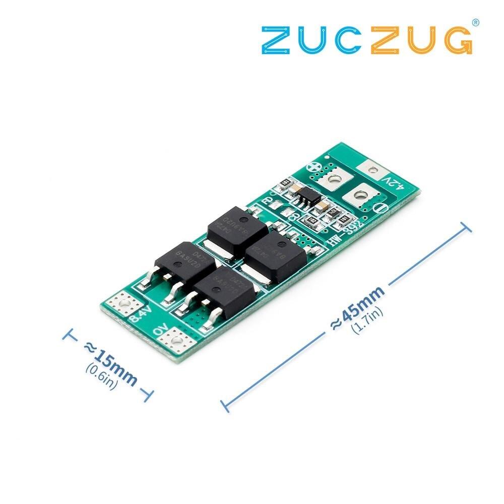 2S 7.4V 8.4V 18650 Lithium Battery Protection Board 20A Current Standard Version